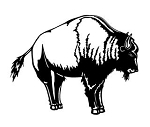 Bison v2 Decal Sticker