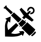 Boat Anchor v2 Decal Sticker