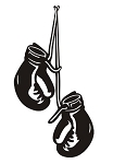 Boxing Gloves v2 Decal Sticker
