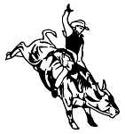 Bull Rider v5 Decal Sticker