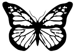 Butterfly v14 Decal Sticker