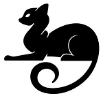 Cat Silhouette v16 Decal Sticker
