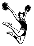 Cheerleading Decals Stickers
