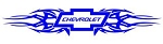Chevrolet Tribal v4 Decal Sticker