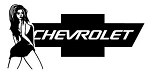 Chevy Girl v3 Decal Sticker