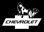 Chevy Girl Decal Sticker