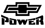 Chevy Power v2 Decal Sticker