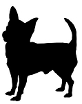 Chihuahua Silhouette v2 Decal Sticker