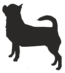Chihuahua Silhouette Decal Sticker