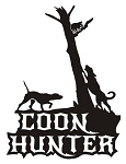 Coon Hunter v1 Decal Sticker