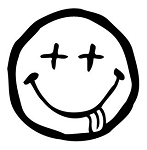 Dead Smiley Face Decal Sticker