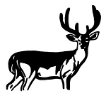 Deer v2 Decal Sticker