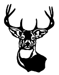 Deer Head v2 Decal Sticker