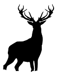 Deer Silhouette v3 Decal Sticker