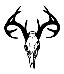 Deer Skull v4 Decal Sticker