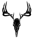 Deer Skull Decal Sticker