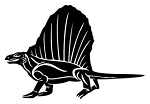 Dimetrodon Decal Sticker