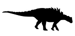 Dinosaur Silhouette v4 Decal Sticker