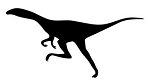 Dinosaur Silhouette v6 Decal Sticker