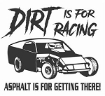 Dirt is for Racing - Modified v2 Decal Sticker