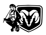 Dodge Girl v5 Decal Sticker