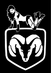 Dodge Girl Decal Sticker