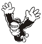 Donkey Kong Decal Sticker