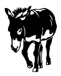 Donkey Decal Sticker
