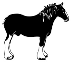Draft Horse v1 Decal Sticker