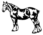 Draft Horse v2 Decal Sticker
