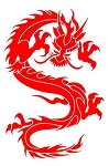 Dragon v26 Decal Sticker