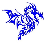 Dragon v30 Decal Sticker