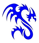 Dragon v40 Decal Sticker