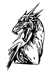 Dragon v51 Decal Sticker