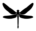 Dragonfly v2 Decal Sticker