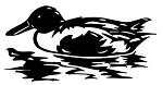 Duck v1 Decal Sticker
