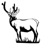 Elk v3 Decal Sticker
