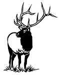 Elk Decal Sticker