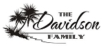Family Name with Tropical Scene Decal