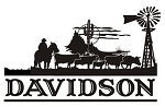Family Name with Western Scene v2 Decal