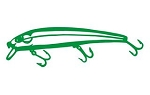 Fishing Lure v8 Decal Sticker
