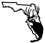 Florida Deer Hunting Decal Sticker