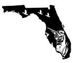Florida Duck Hunting Decal Sticker
