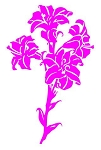 Flower v4 Decal Sticker