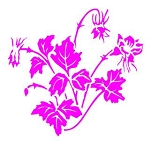 Flower v5 Decal Sticker