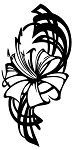 Flower Design v4 Decal Sticker
