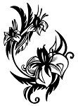 Flower Design v5 Decal Sticker