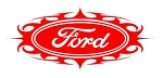 Ford Oval Tribal v1 Decal Sticker