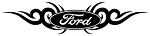 Ford Tribal v2 Decal Sticker