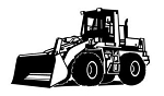 Front Loader Decal Sticker